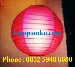 L-103 (Lampion Segi Enam ), HP: 0852 5948 6600