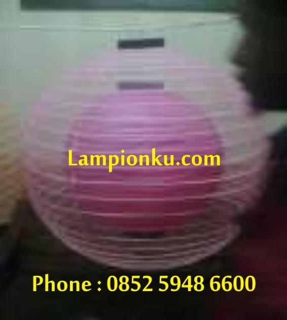 L-110 (Lampion Bulat Rangkap), HP: 0852 5948 6600