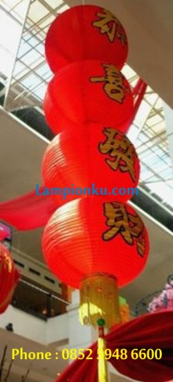 L-112 (Lampion Bola Susun 4), HP: 0852 5948 6600