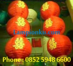 L-113 (Lampion Bola Susun 3), HP: 0852 5948 6600