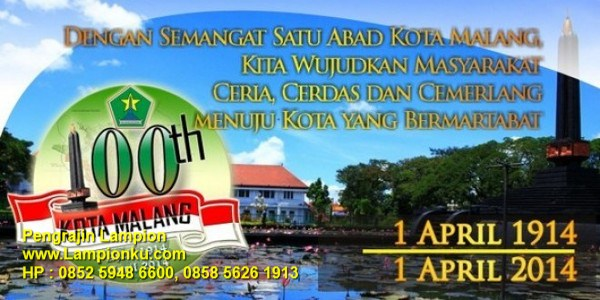 Lampionku.com - HUT-100-Tahun-Kota-Malang-2014, HP: 0852 5948 6600