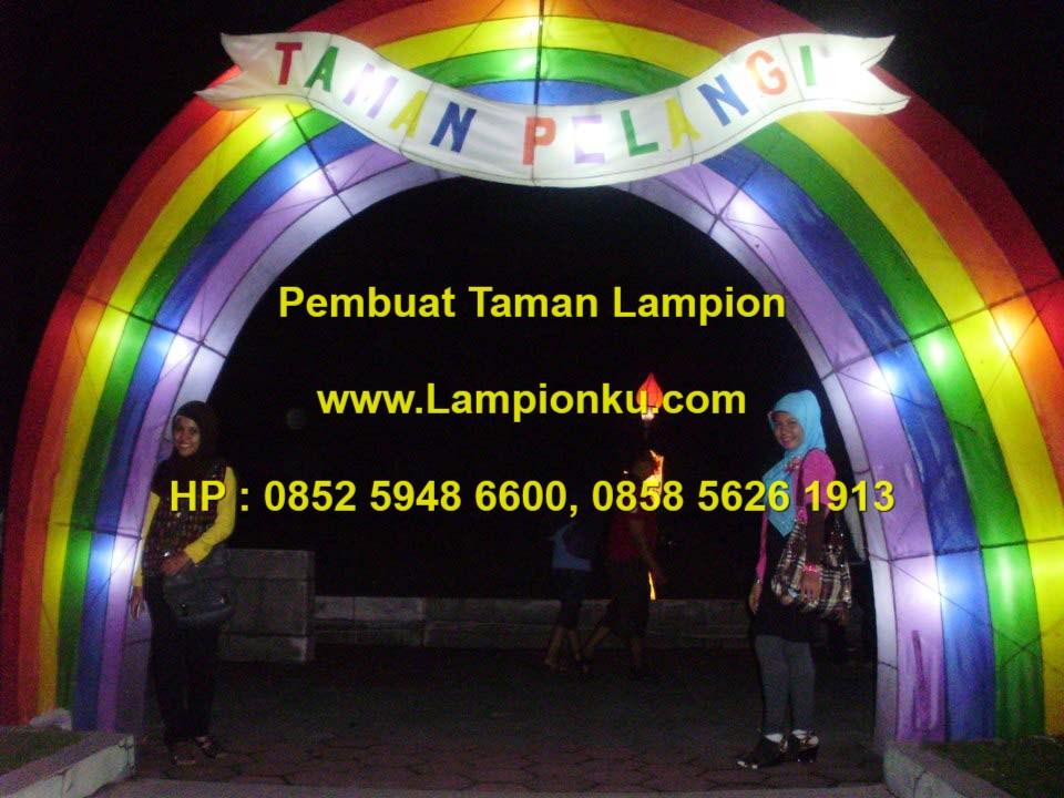 Lampionku.com - Menerima Pembuatan TAMAN LAMPION seperti Taman Pelangi YOGYAKARTA, HP. 0852 5948 6600.