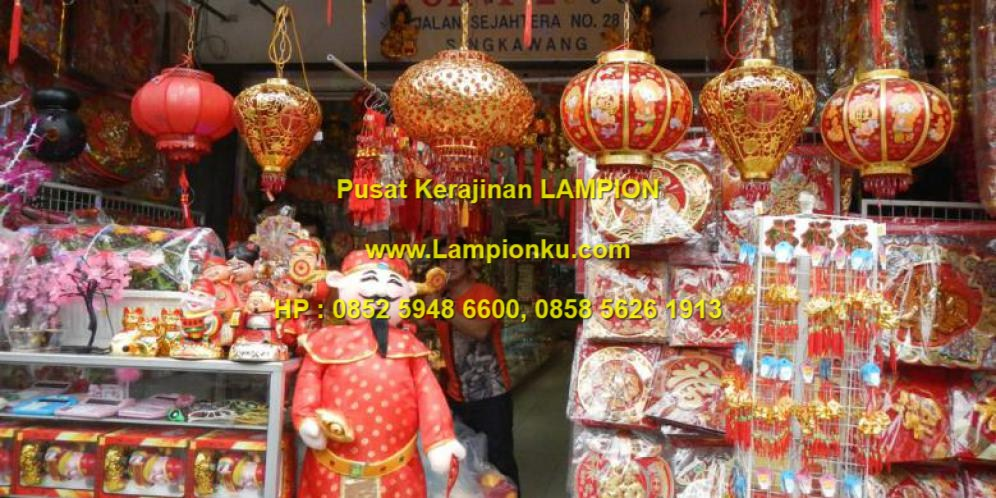 Lampionku.com - Toko LAMPION dan Perlengkapan Cap Go Meh IMLEK, hp: 0852 5948 6600