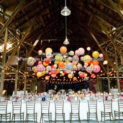 Lampion Wedding Dekorasi Unik