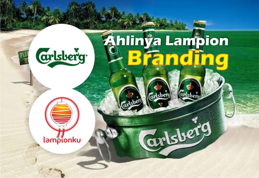 Lampion Branding Carlsberg 2014