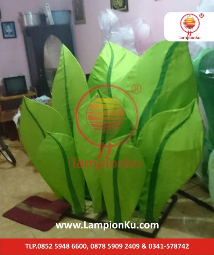 Lampion Bentuk Bunga Daun, LampionKu.com