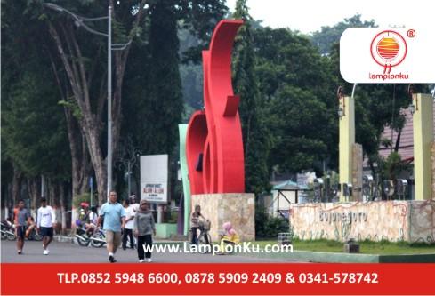 Taman Lampion di Alun-alun BOJONEGORO
