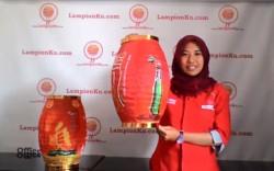 Produsen Souvenir Lampion untuk minuman ringan Merk Carlsberg 2015