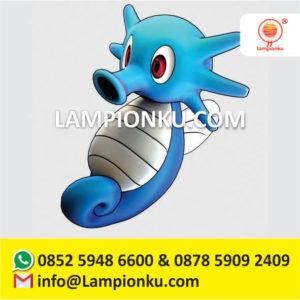 jual-lampion-taman-maskot-kartun-pokemon-go-horsea