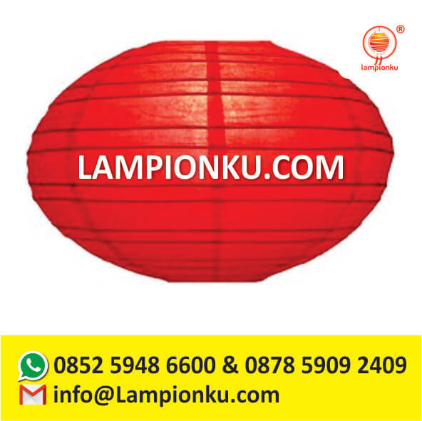 l-104-pengrajin-lampion-oval-di-malang-pipih-gantung-hanging-warna-polos