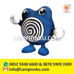 pengrajin-lampion-karakter-kartun-pokemon-go-poliwhirl-di-solo