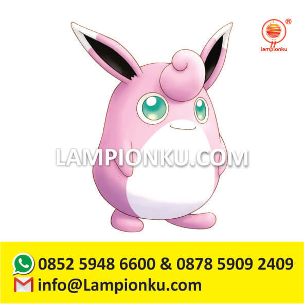 pengrajin-pembuat-lampion-taman-pokemon-go-wigglytuff