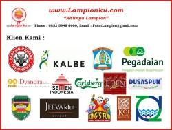 "Klien Lampionku.com - ""Ahlinya Lampion"" - HP : 0852 5948 6600."