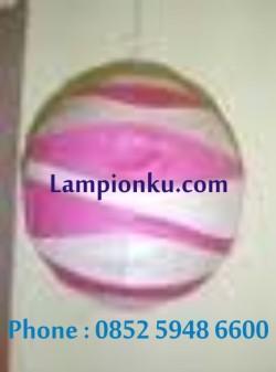 L-105 (Lampion Bulat Motif), HP: 0852 5948 6600
