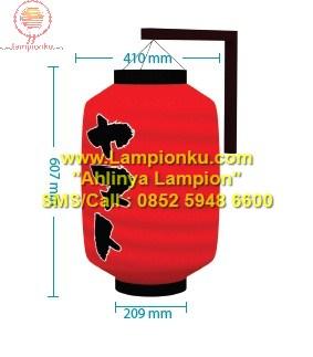 Lampionku.com - Jual Lampion dengan Tulisan Kanji Yamato, HP: 0852 5948 6600.