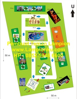 Lampionku.com - Denah Taman Lampion,HP: 0852 5948 6600.