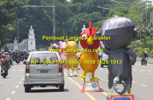 Lampionku.com - Lampion Karakter 12 SHIO di Jalanan Kota SOLO,HP.0852 5948 6600