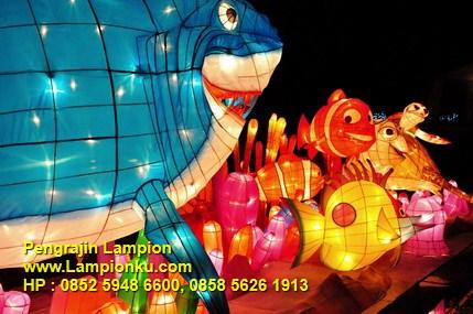 Lampionku.com - Lampion NEMO di Pesta Lampion TMII Jakarta, HP: 0852 5948 6600