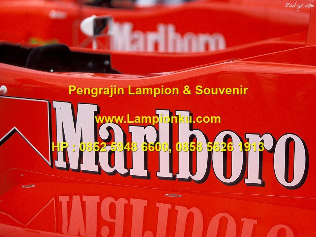 Lampionku.com - Logo MARLBORO, HP: 0852 5948 6600.