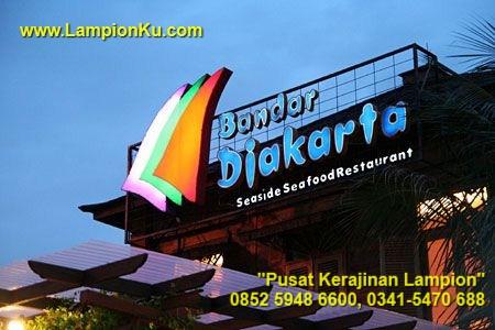 HP. 0852 5948 6600, LampionKu.com - Pengrajin Lampion Kepercayaan Restaurant Bandar Djakarta