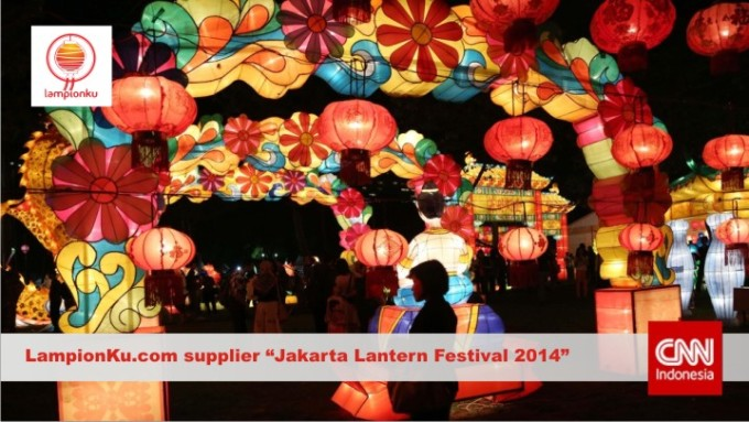 LampionKu.com - Pengrajin Rekanan Jakarta Lantern Festival 2014 di Lapangan BANTENG