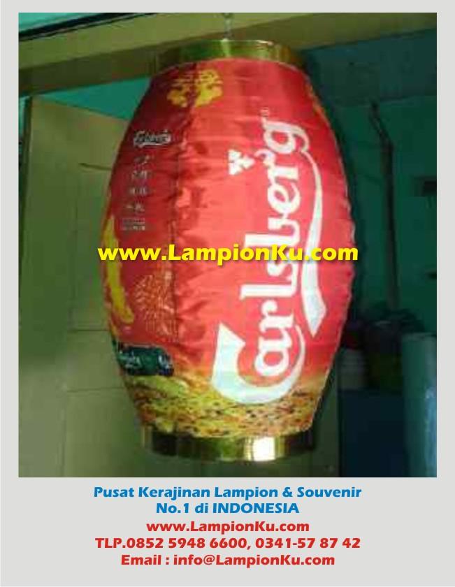 Lampion Branding Produk Merk Carlsberg 2014
