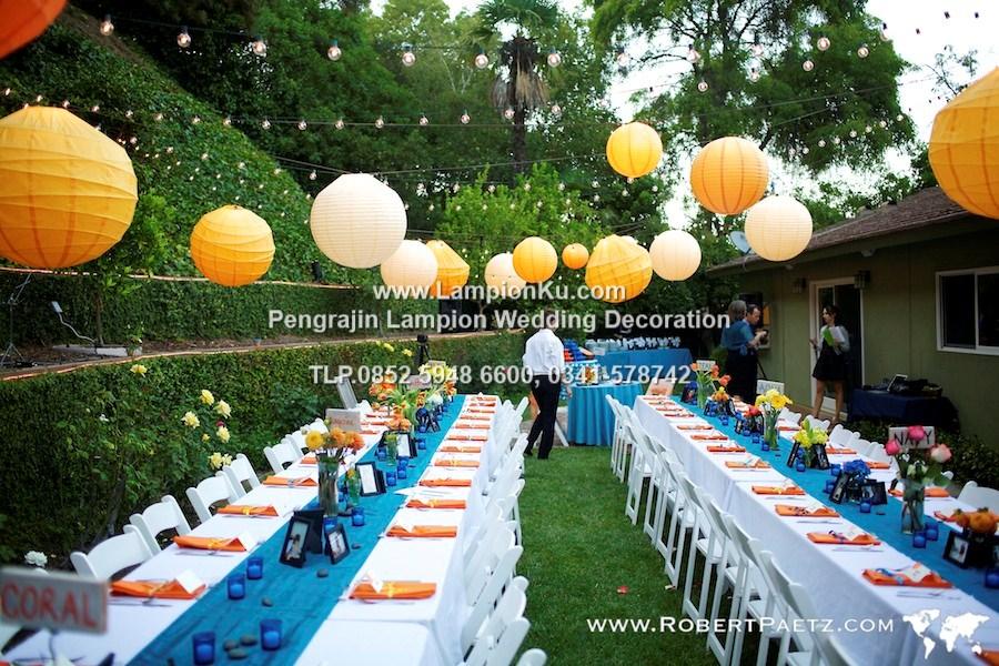 Jual lampu wedding