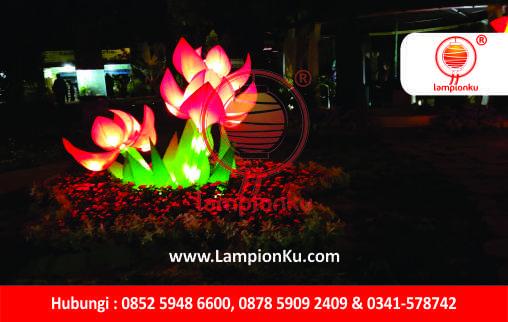 LampionKu.com - Lampion Bunga Taman Lapangan Banteng Jakarta Pusat