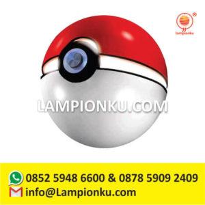 kerajinan-lampion-karakter-pokemon-go-pokeball-surabaya