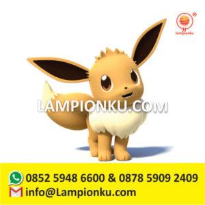 pembuat-taman-lampion-karakter-pokemon-go-eevee
