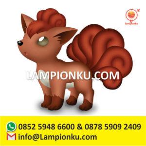 pengrajin-jual-lampion-karakter-pokemon-go-vulpix-di-sampit