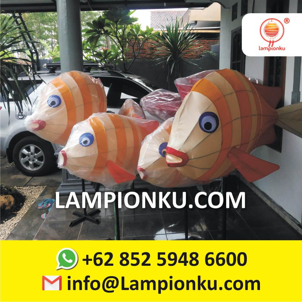 Project Lampion Karakter Ikan Warung Wareg Kota Wisata Batu